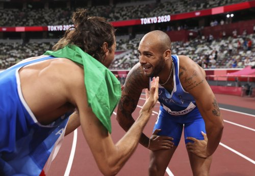 Settled: High-jump friends elect double gold over jump-off