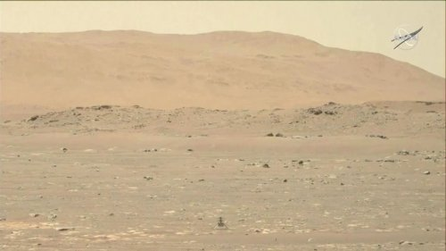 NASA releases HD video of Mars 'helicopter' flight