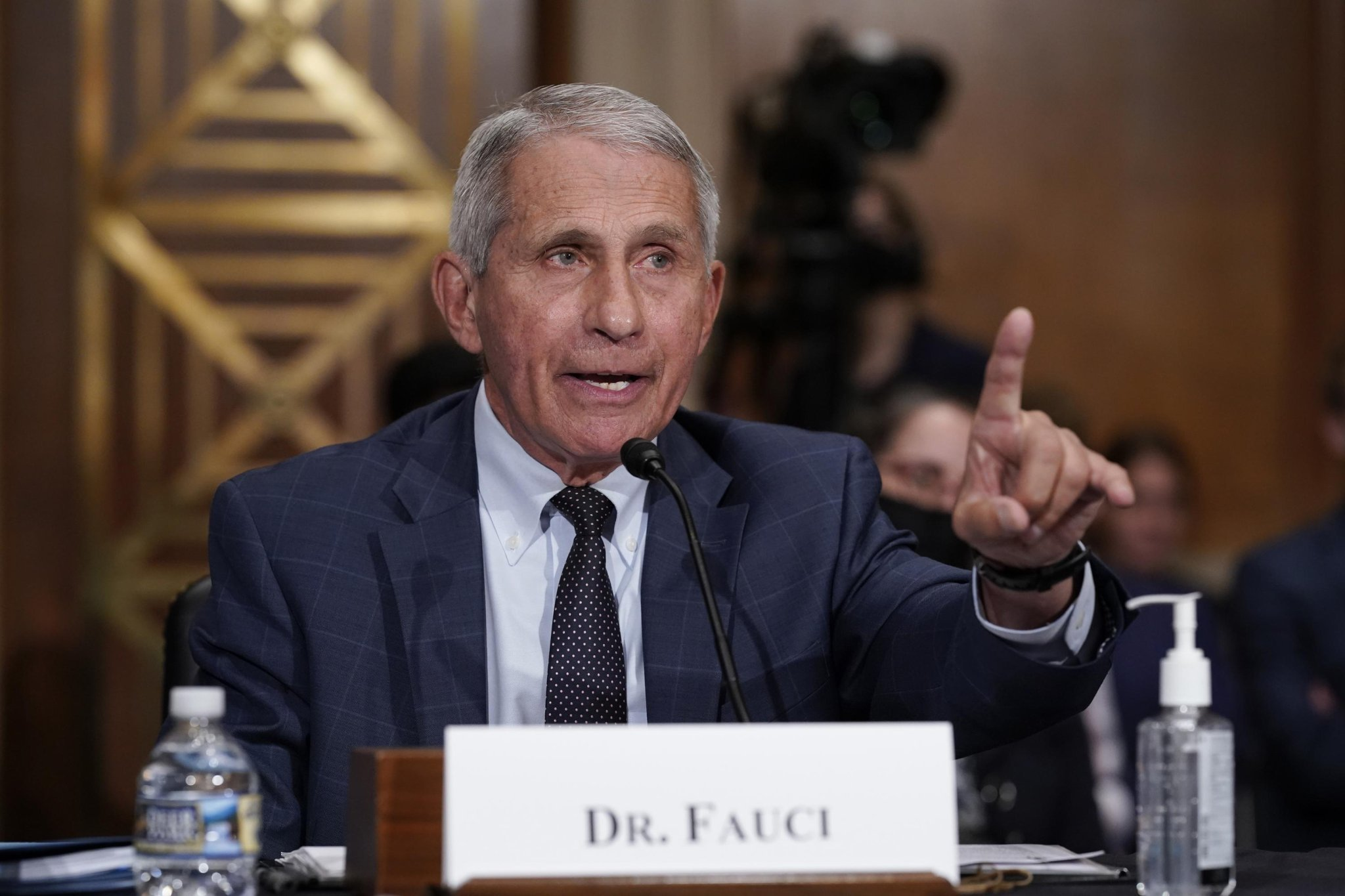 Dr. Fauci: U.S. Could See New Variant If Community Spread Isn't Contained