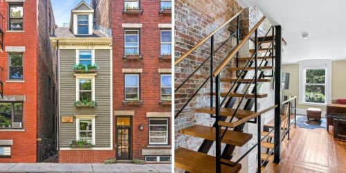 Boston's Famous Skinny House Just Sold For $1.25 Million