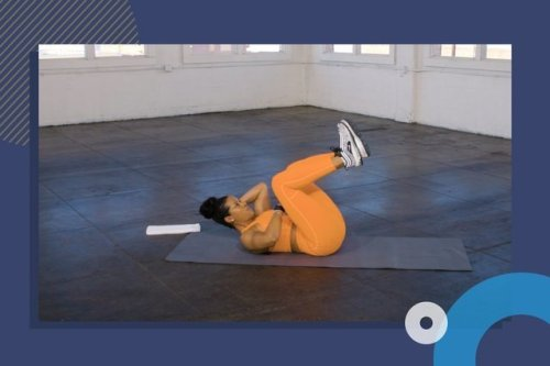 Work Your Abs and Arms With Zero Equipment