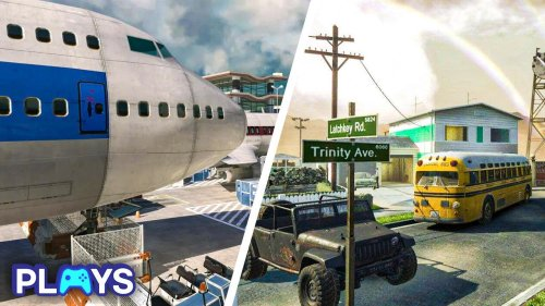 The Best Map From Every Call of Duty Game