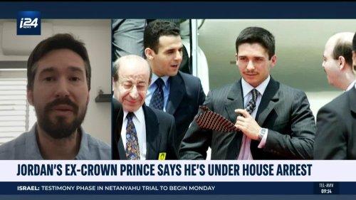 Jordan's Ex-Crown Prince Says He's Under House Arrest