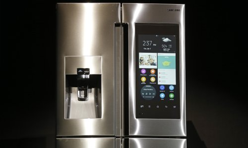 Smart fridges and TVs should carry security rating, police chief says