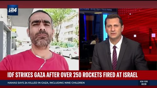 Sderot Resident Reports on Rocket Fire in Israel