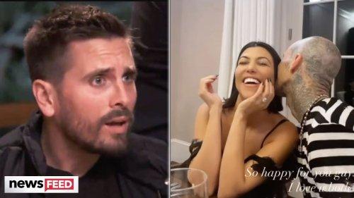 """Scott Disick """"BESIDE HIMSELF"""" Over Kourtney Kardashian's Engagement!"""