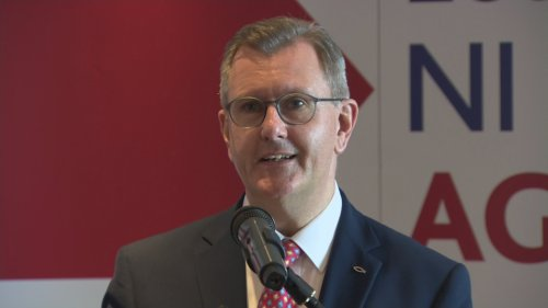 New leader Sir Jeffrey Donaldson 'determined to unify' DUP