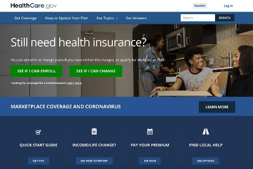 Biden encouraged by consumer interest in 'Obamacare' offer