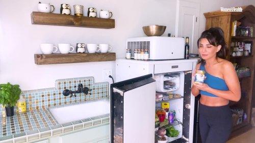 Marisol Nichols' Chic Fridge Is Packed With Delicious Veggies | Fridge Tours