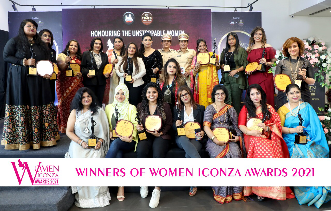 Womens Iconza Award 2021 - cover