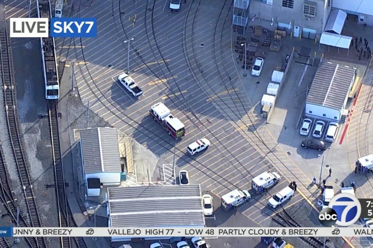 Gunman kills nine, takes own life in San Jose rail yard shooting