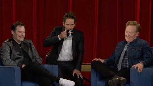 Watch Paul Rudd force Mac & Me on Conan O'Brien one final time