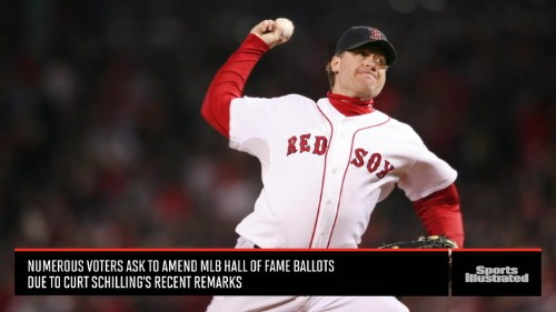 Should Curt Schilling's Recent Remarks Remove Him From Hall of Fame Consideration?