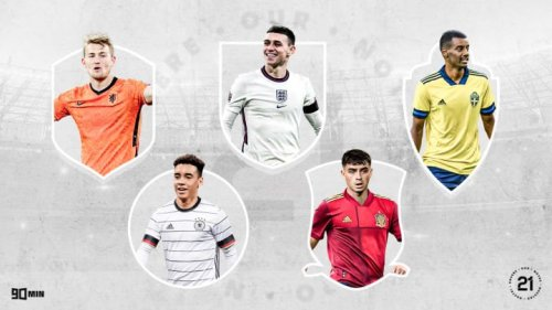 90min's Our 21: The young players to watch at Euro 2020