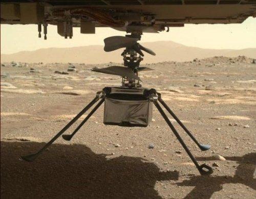 NASA's Ingenuity Set To Take Inaugural Mars Flight