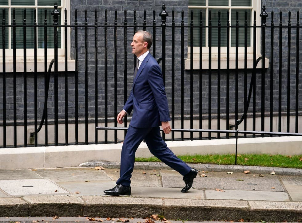 Dominic Raab demoted from foreign secretary but becomes deputy PM