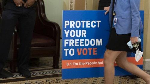 Senate Republicans Block Democrats' Election Reform Bill