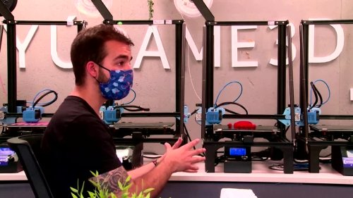 Spanish inventor crafts 3D-printed, prosthetic arms