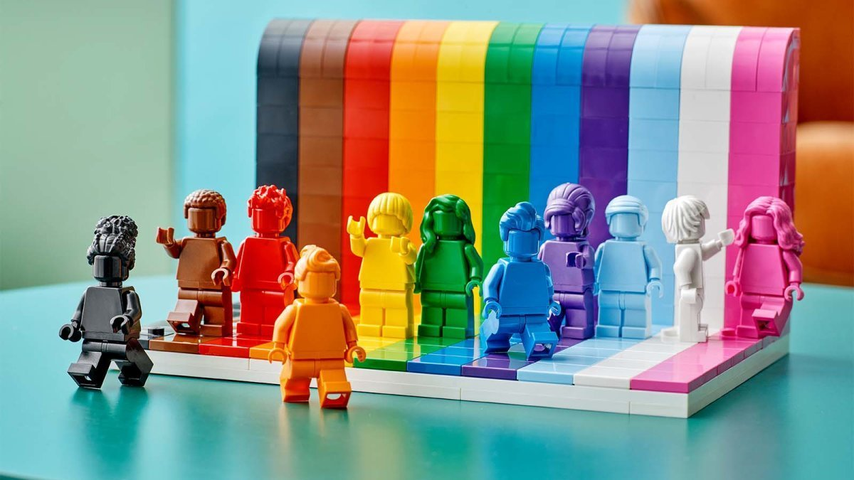 New Pride LEGOs and Four Other Toys That Promote Diversity
