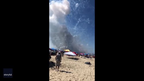 Ocean City's Independence Day Fireworks Accidentally Explode on Beach