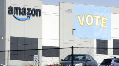 Amazon workers in US state of Alabama vote against forming a union