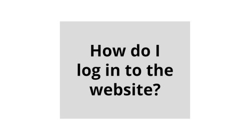 How to log in to the website | Daily Press