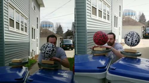 'Milwaukee Man Goes Viral after Pulling Off Insane Jump (Hidden Trampoline)'