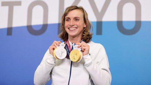 Katie Ledecky Becomes Most Decorated Female Olympic Swimmer Ever