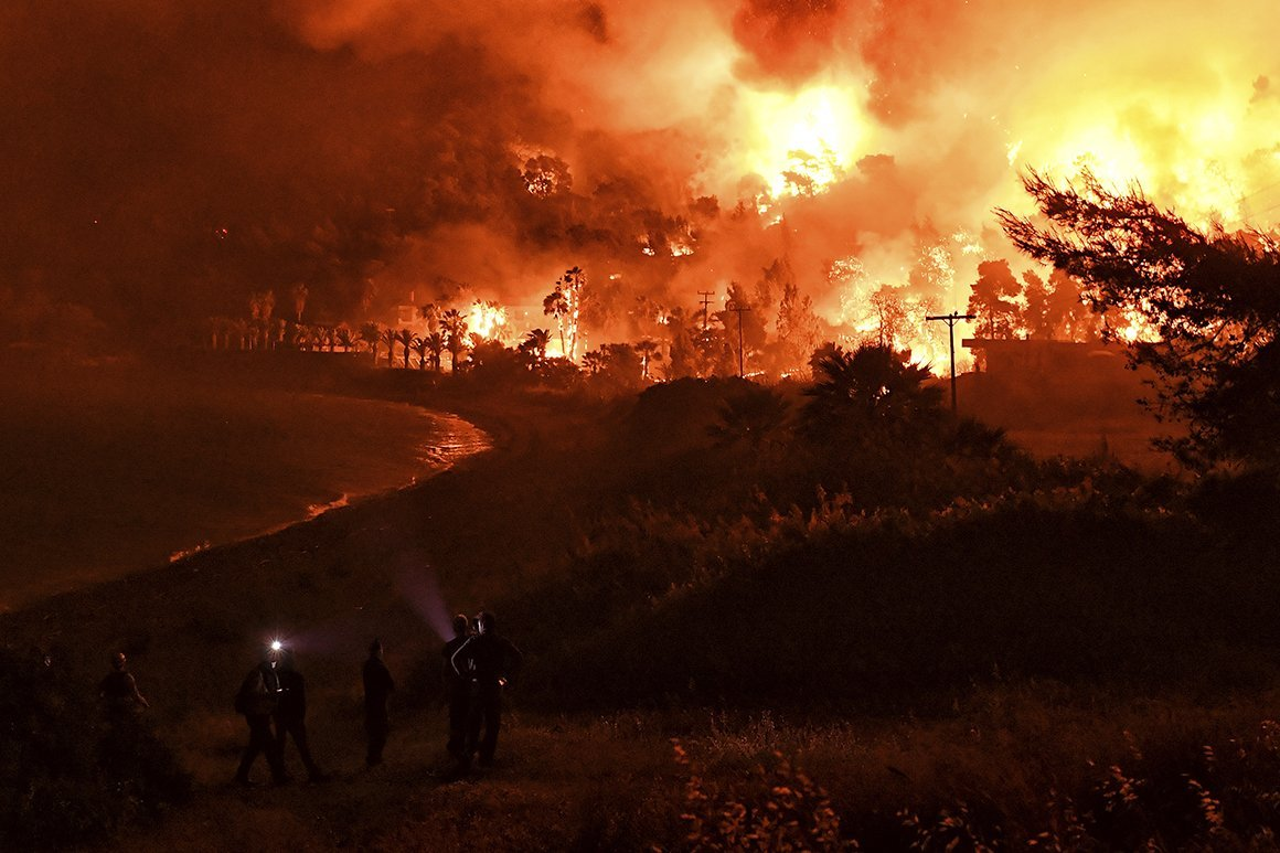 'Code Red:' U.N. Warns Disastrous Climate Change is Here