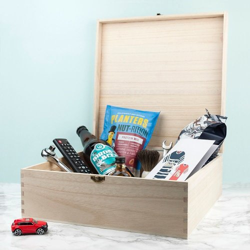 Personalized survival kit for new dads
