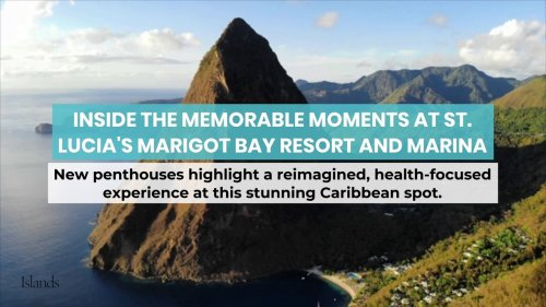 Inside the Memorable Moments at St. Lucia's Marigot Bay Resort and Marina
