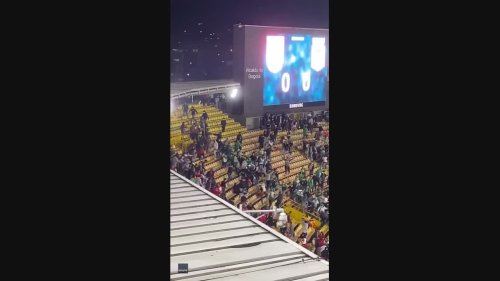 Colombia's First Football Match With Spectators in Over a Year Marred by Fan Violence