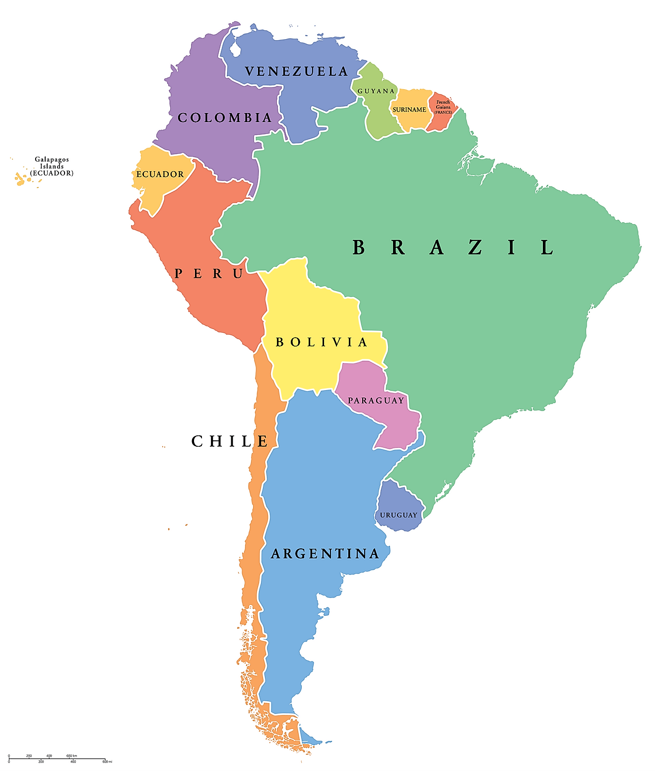 How Many Countries Are There In South America?