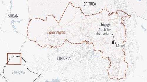 Witnesses Say Airstrike In Ethiopia's Tigray Kills Dozens