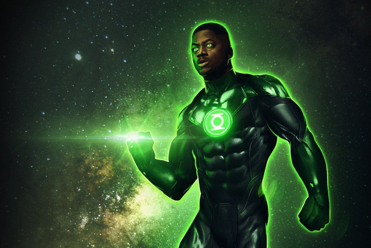 How Green Lantern would have looked in Justice League