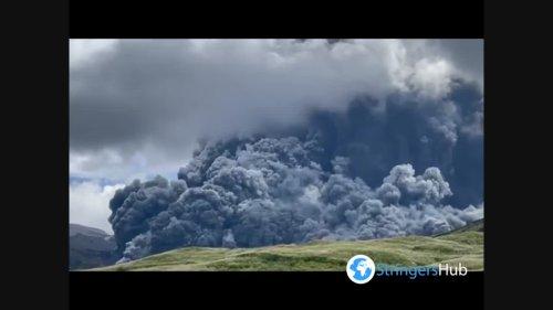 Japan: Mount Aso Volcano Erupts, Spews Thick Volcanic Ash