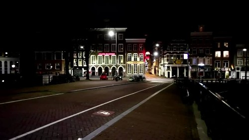 Red lights out as Amsterdam enters curfew