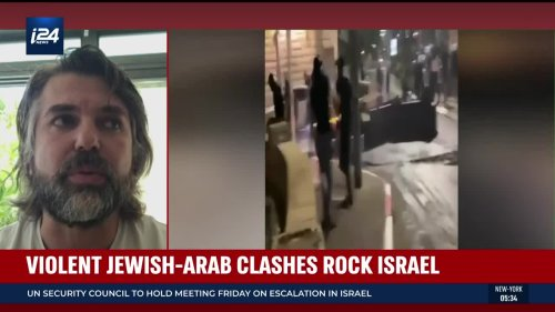Jewish restaurant owner describes narrow escape during Acre riots