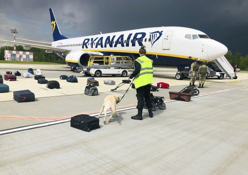 Ryanair CEO says diverted flight had to land in Belarus