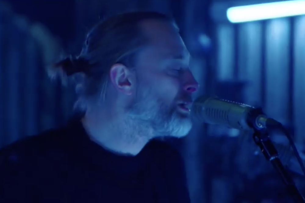 Two Radiohead members just announced a side project and you can already listen