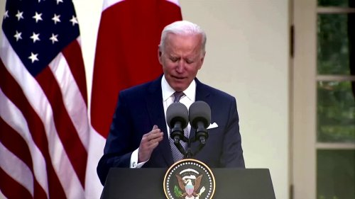 Gun deaths 'national embarrassment' -Biden