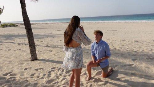 Graduation Trip Turns Into Surprise Proposal