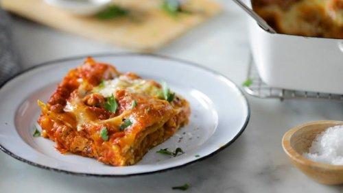 The Best Turkey Lasagna