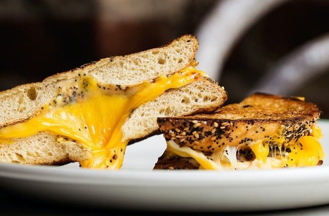 Everything Bagel Grilled Cheese Is The Lunch Upgrade You Need
