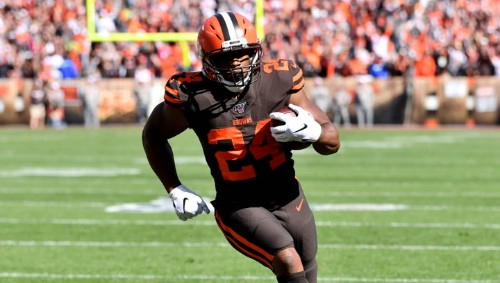 Nick Chubb Big Believer in Browns, Baker Mayfield and Ben Affleck