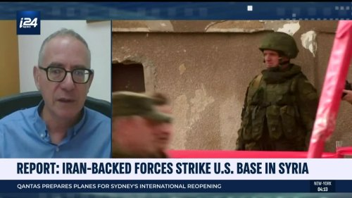 Report: Iran-backed forces strike US base in Syria