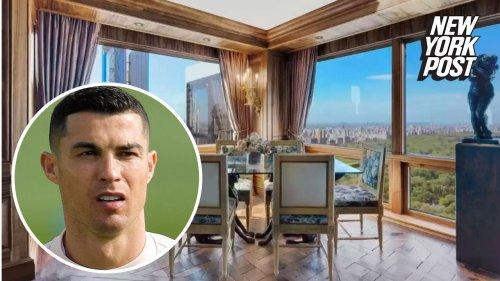Cristiano Ronaldo slashes Trump Tower condo ask by $10.75M after backlash