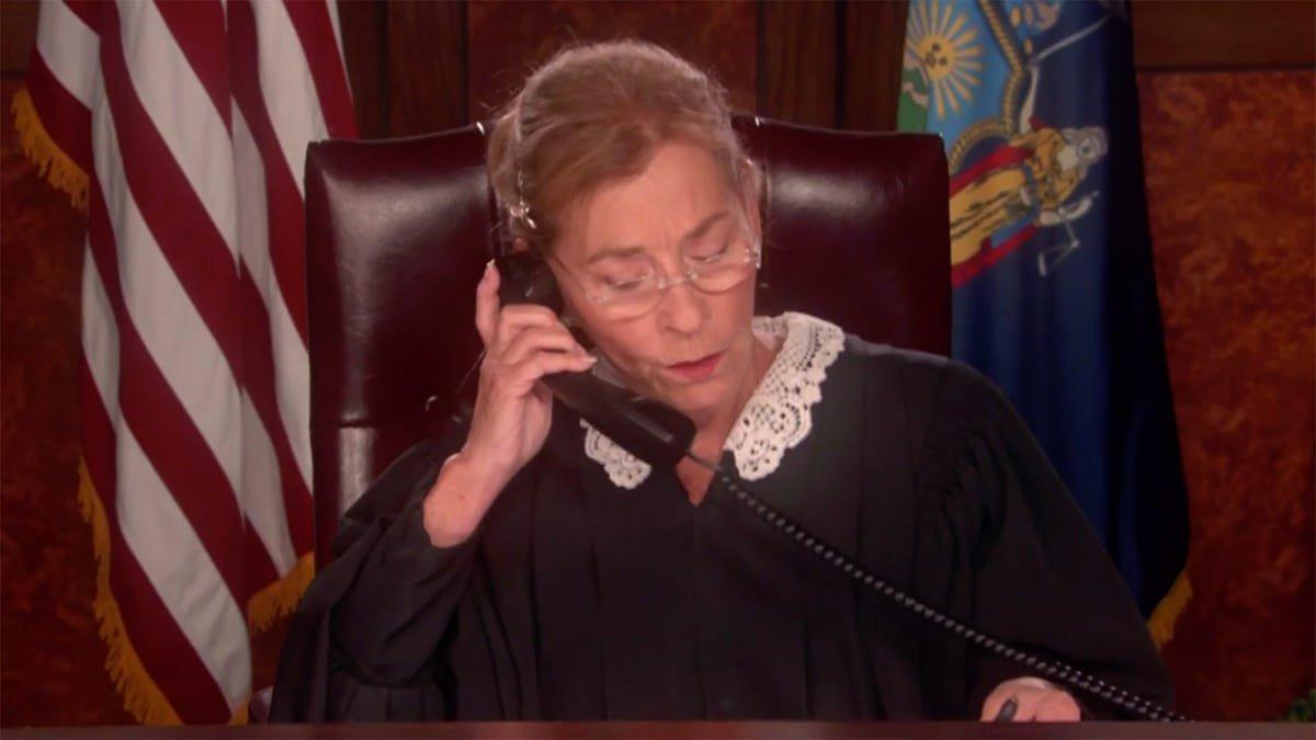 Goodbye to Judge Judy, Who Said Goodbye Without Saying Goodbye