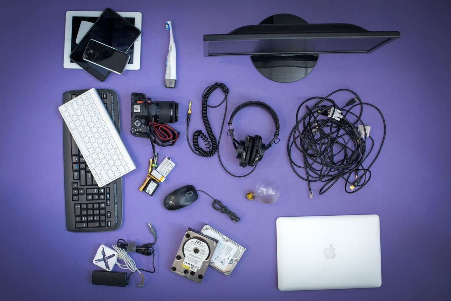 How to Recycle All of Your Old Tech