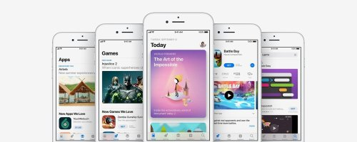 A Quick Tour of the New App Store with iOS 11 on iPhone